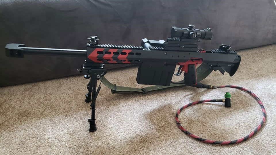 Tippmann 98 Barrett Paintball Custom